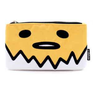 Loungefly Sanrio Gudetama Big Face Pencil Case