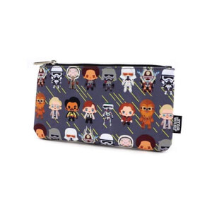 Loungefly Star Wars Solo Chibi Characters Pouch