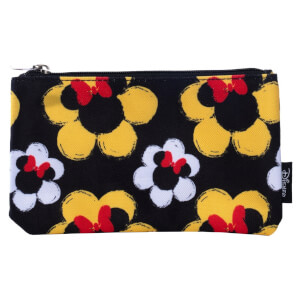 Disney Loungefly Estuche Estampado Minnie Mouse con Flores