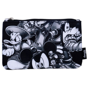 Disney Loungefly Kingdom Hearts Black & White Pouch