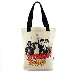 Loungefly Stranger Things Canvas Tote Bag