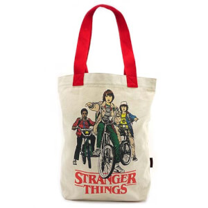 Loungefly Stranger Things Bike Gang Tote Bag