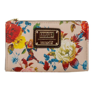 Loungefly Marvel Captain Marvel Floral Wallet