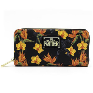 Loungefly Marvel Black Panther Floral Wallet