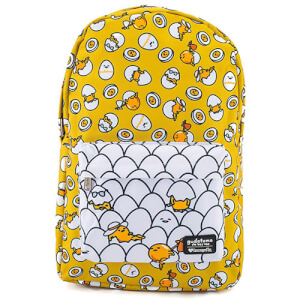 Loungefly Gudetama Yellow Nylon Backpack