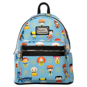 Loungefly Marvel X-Men Chibi Characters Mini Backpack