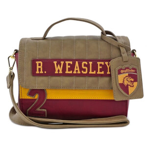Loungefly Harry Potter Ron Weasley Gryffindor Crossbody Bag