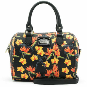 Loungefly Marvel Bolso De Mano Floral Black Panther