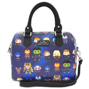Loungefly Marvel The Avengers Chibi Duffle Bag