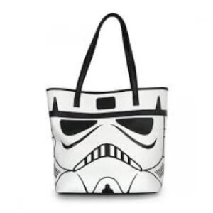 Loungefly Star Wars Darthvader/Storm Trooper 2 Sided Tote Bag