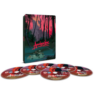 Apocalypse Now Final Cut – 40 Jähriges Jubiläum - 4K Ultra HD & Blu-ray Zavvi Exklusives Steelbook