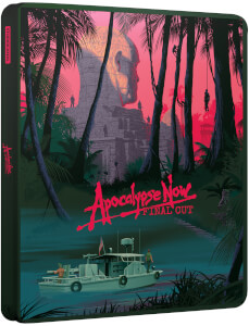 Apocalypse Now Final Cut – 40th Anniversary - 4K Ultra HD & Blu-ray Zavvi Exclusive Steelbook
