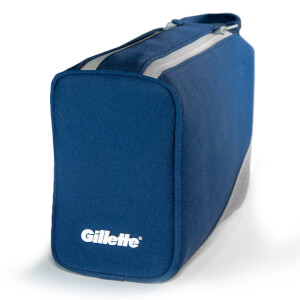 Washbag - Navy Blue/Grey