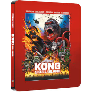 Kong: Skull Island – Zavvi UK Exclusive 4K Ultra HD Steelbook (Includes 2D Blu-ray)