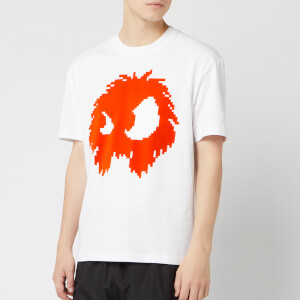 McQ Alexander McQueen Men's Dropped Shoulder Monster T-Shirt - Optic White