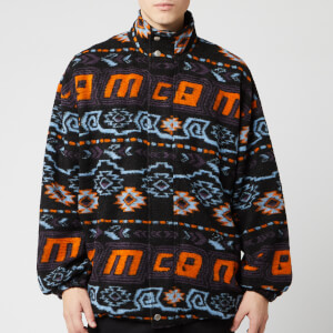McQ Alexander McQueen Men's Funnel Neck Rewind Repeat Sweatshirt - Multi