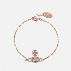 Vivienne Westwood Women's Sorada Bas Relief Bracelet - Pink Gold Light Rose