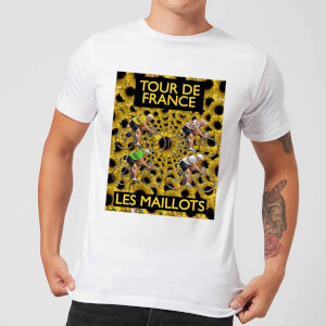 Mark Fairhurst TDF Les Maillots Men's T-Shirt - White