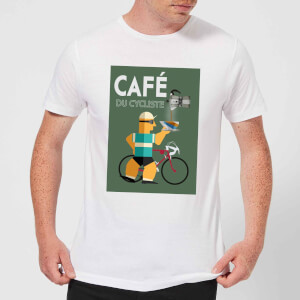 Mark Fairhurst Cafe Du Cycliste Men's T-Shirt - White