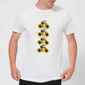 Mark Fairhurst Tournesol Riders Men's T-Shirt - White