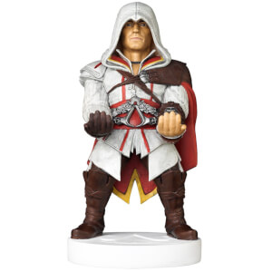 Supporto Cable Guy da collezione per controller e smartphone di Ezio di Assassin's Creed - 20 cm
