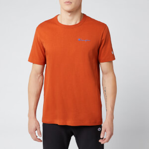 Champion Men's Small Script T-Shirt - Brown
