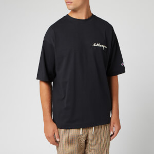Champion X Clothsurgeon Men's Stript T-Shirt - Black