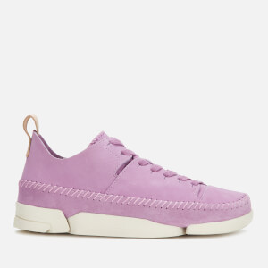 Clarks Originals Women's Trigenic Flex Nubuck Trainers - Lavender