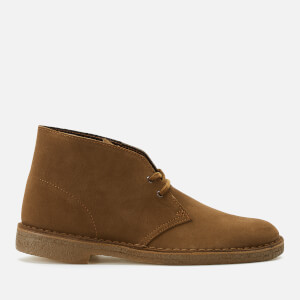 Clarks Originals Men's Suede Desert Boots - Cola