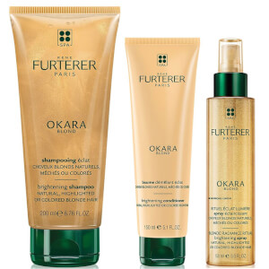 René Furterer Okara Blonde Brightening Set for Blonde Hair