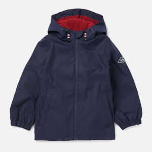 Joules Boys' Portwell Lightweight Waterproof Jacket - Marine Navy