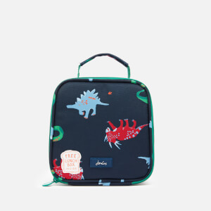 Joules Boys' Munch Bag - Navy Dinos