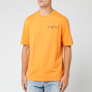 Axel Arigato Men's Future T-Shirt - Orange