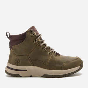 Timberland Women's Mabel Town WP Hiker Boots - Medium Grey Full Grain