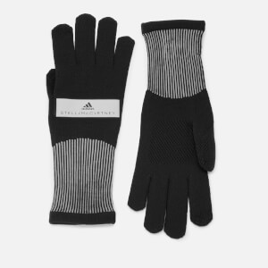 adidas by Stella McCartney Women's Run Knitted Gloves - Black