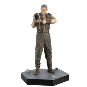 "Eaglemoss Figure Collection - Alien: Resurrection Ron Johner 5.2"" Figurine"