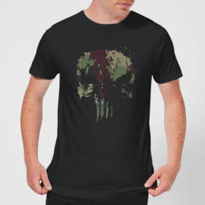 Marvel The Punisher Camo Skull t-shirt - Zwart