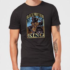 Marvel Black Panther Homage Men's T-Shirt - Black
