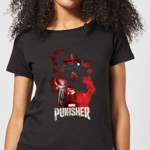 Marvel The Punisher dames t-shirt - Zwart