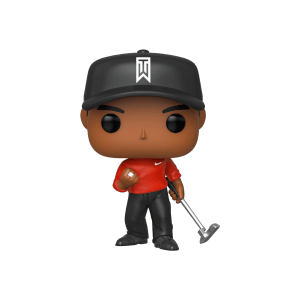 Figurine Pop! Tiger Woods (Maillot Rouge)