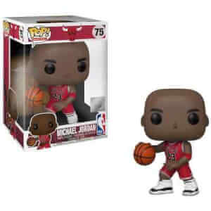NBA Chicago Bulls Michael Jordan (Red Jersey) 10-Inch Pop! Vinyl Figure