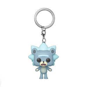 Rick & Morty Teddy Rick Pop! Keychain