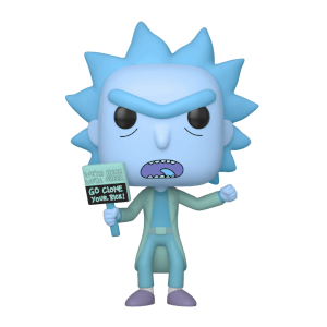 Rick and Morty - Rick Ologramma Clone Figura Pop! Vinyl