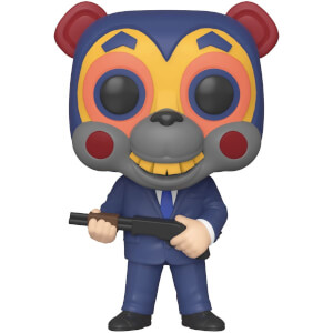 Figurine Pop! Hazel Avec Masque - The Umbrella Academy