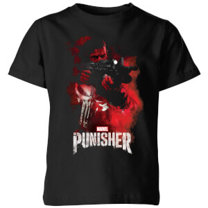 Marvel The Punisher kinder t-shirt - Zwart