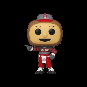 College Mascots Ohio State University Brutus Buckeye Pop! Vinyl Figure