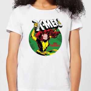 X-Men Defeated By Dark Phoenix dames t-shirt - Wit