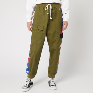 Champion Women's Rib Cuff Cargo Pants - Khaki