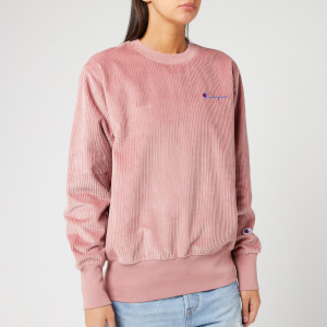 Champion Women's Cord Sweatshirt - Pink