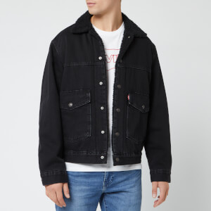 Levi's Men's Patch Pocket Sherpa Trucker Jacket - Ricky